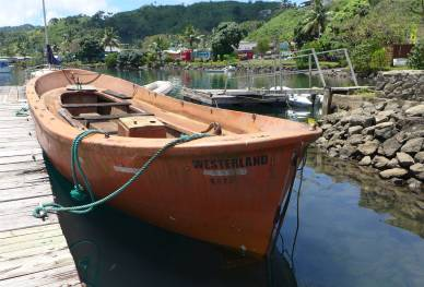 Fiji Savusavu Rettungsboot Westerland