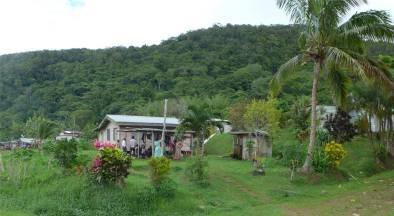 Fiji Vanua Levu Landleben