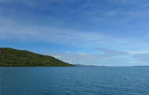 Fiji Viti Levu gelegentlich zeigt sich blauer Himmel