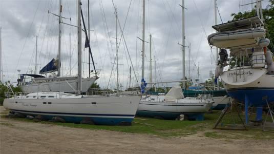 Fiji Vuda Marina diese Boote kippen garantiert nicht um
