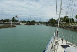 Fiji Vuda Marina hier wird gebaut