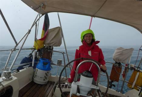 Passage nach Fiji im Regen