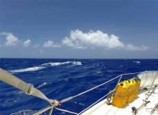 Passage nach Fiji schoen wenn die Sonne scheint