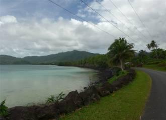 Samoa an der suedkueste