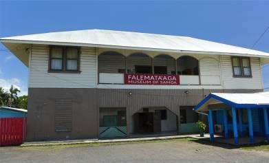 Samoa Apia das Museum ist in der ehemaligen deutschen Schule untergebracht