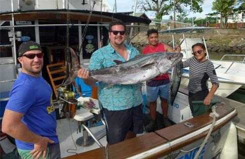 Samoa Apia die Nachbarn hatten einen erfolgreichen Angeltag