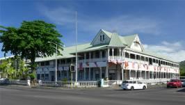 Samoa Apia erst deutsches Regierungsgebäude dann Polizeihauptsitz soll jetzt restauriert werden