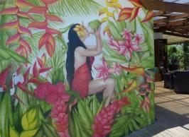 Samoa Apia Kunst an der Wand