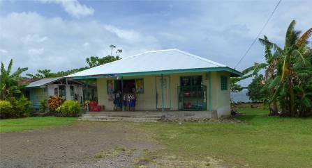 Samoa die Schule ist zuende