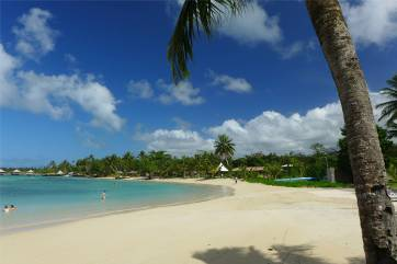 Samoa echte Urlaubsluft schnuppern