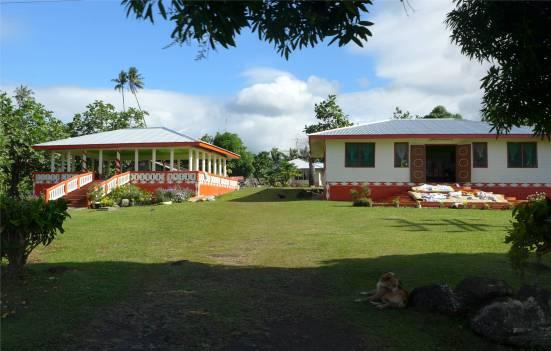 Samoa jeder sollte ein offenes Haus haben