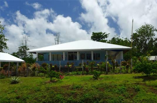 Samoa ungewoehnlich kein offenes Haus