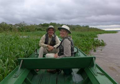 Tilley am Amazonas