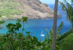 FP Tahuata Segler lieben die Aussicht aufs eigene Boot