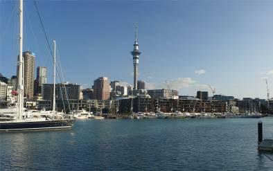 NZ Auckland mit Sky Tower