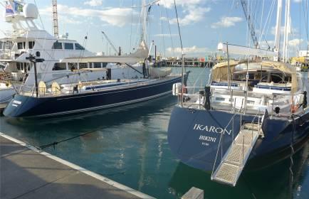 NZ Auckland viele der Yachten kennen wir aus Polynesien