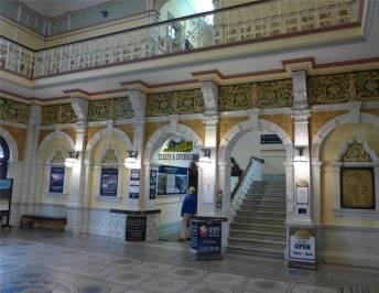 NZ Dunedin die Bahnhofskirche