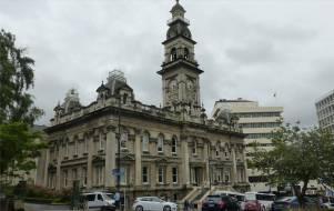 NZ Dunedin schoene Gebaeude