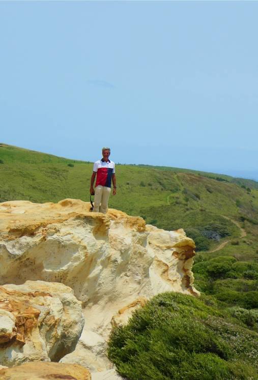 NZ Hokianga Nobbi und die Felsen