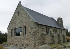 NZ Kirche am Lake Tekapo