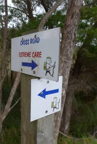 NZ Russel der Weg ist perfekt markiert