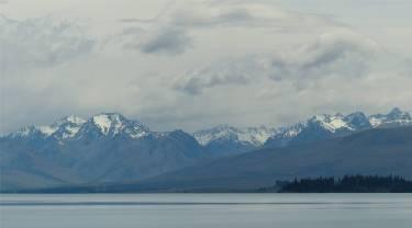 NZ Tekapo mit seinen hohen Bergen