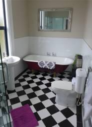 NZ unser Badezimmer in Dunedin