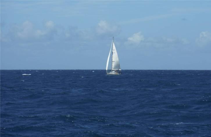 Panama Mari unter Segeln