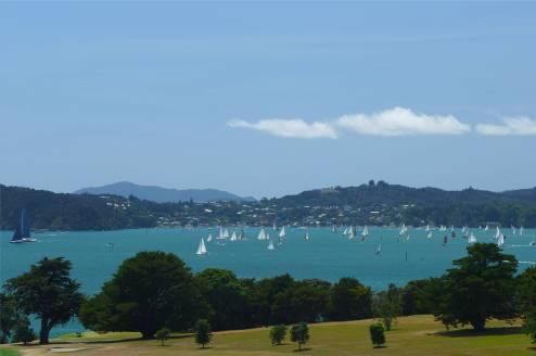 NZ Regatta vor Russel