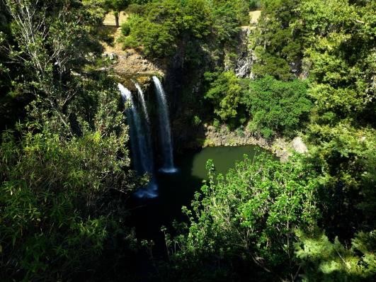 NZ Whangarei Wasserfall 2