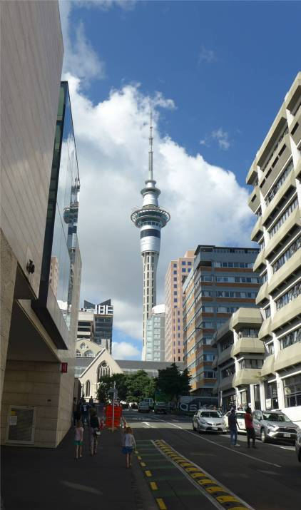 NZ Auckland da ist es wieder das Tuermchen