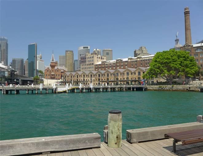 Sydney Blick auf die Stadt