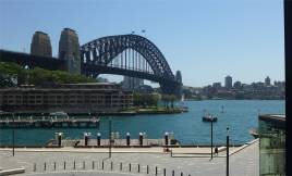 Sydney die Harbour Bridge
