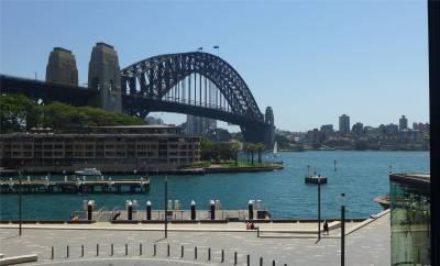 Sydney die Harbour Bridge