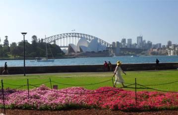 Sydney die Oper und die Harbour Bridge