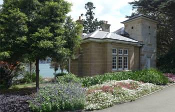 Sydney Haus im botanischen Garten