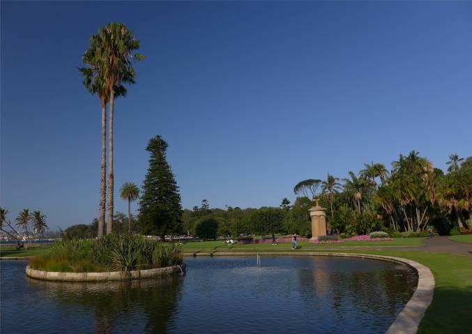 Sydney im botanischen Garten