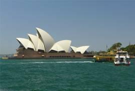Sydney immer wieder die Oper