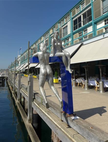 Sydney Kunst auf der Pier