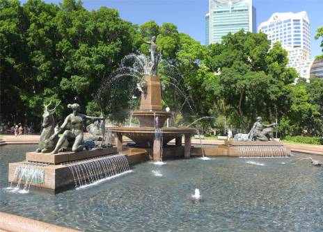 Sydney Springbrunnen im Hydepark