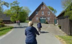 Bremen und umzu 20 Fachwerk am Fahrradweg
