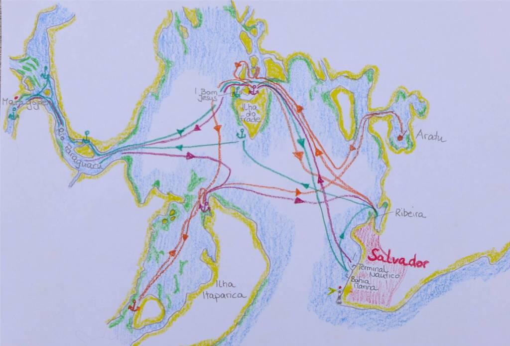 21 Karte Todos os Santos