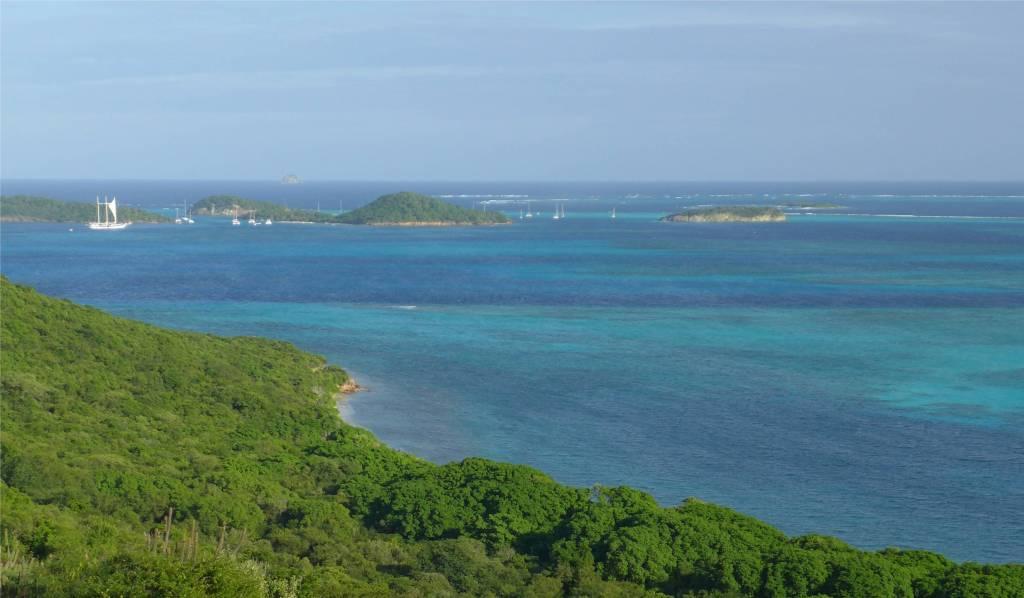 22 Ausblick auf die Tobago Cays