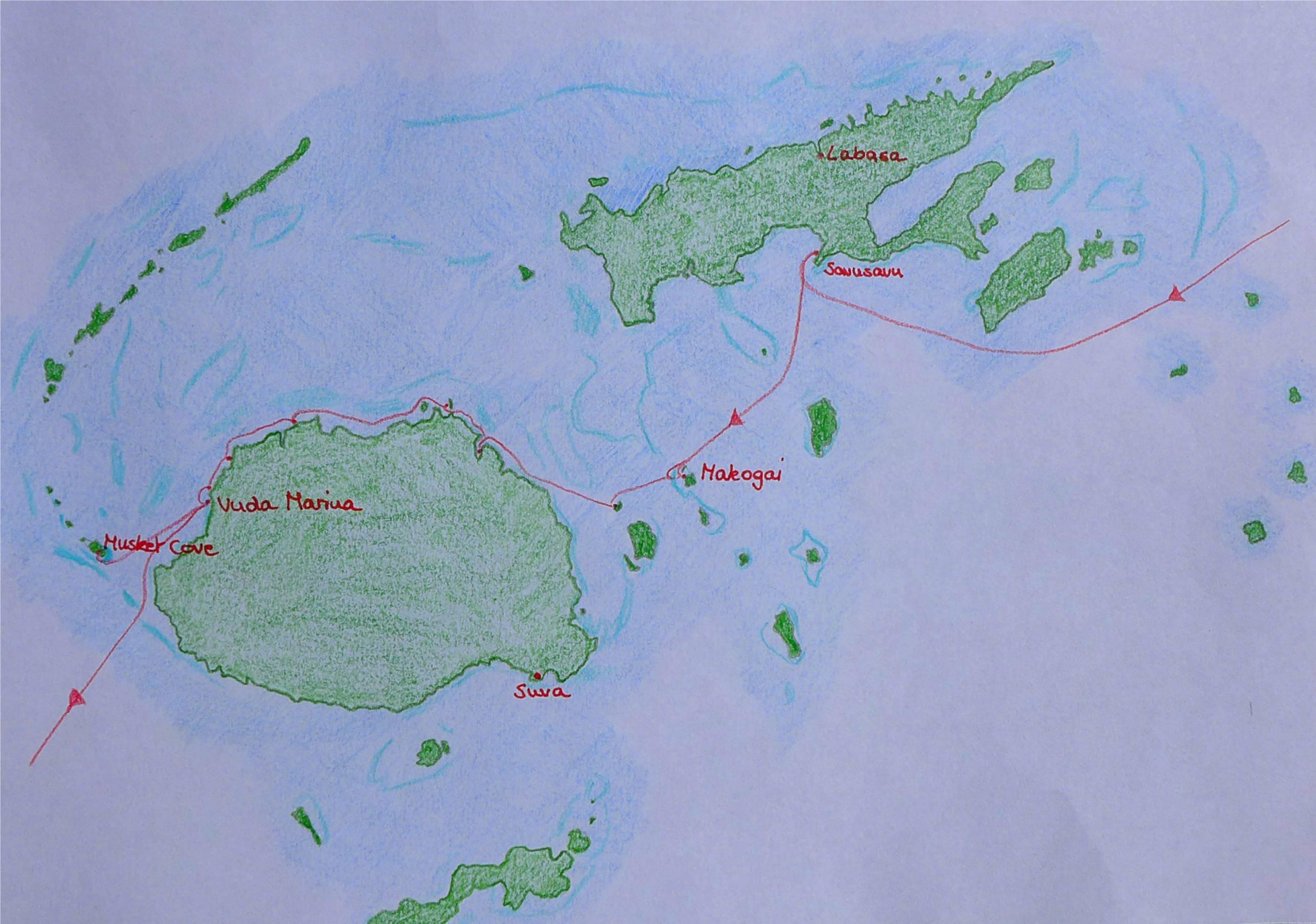 29 Karte Fiji