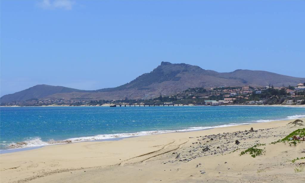 6 Der tolle Strand von Porto Santo